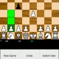 Шахматы для андроид меню